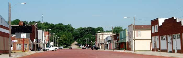 Madison, Kansas by Kathy Weiser-Alexander.