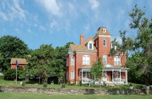 A beautiful home in Madison, Kansas  by Kathy Weiser-Alexander.