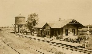 Frisco Depot at Piedmont, Kansas.