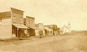 Quincy, Kansas in its early days.