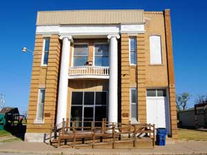 Business building in Severy, Kansas by Kathy Weiser-Alexander.