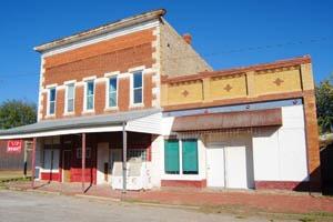 Severy, Kansas Business Buildings by Kathy Weiser-Alexander.