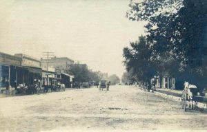 Elk City, Kansas in 1907.