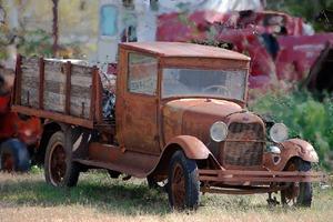 An old truck in Elk City, Kansas by Kathy Weiser-Alexander.