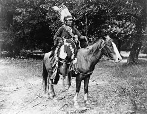 Kiowa Warrior by H.P. Robinson