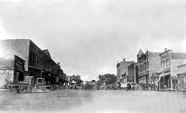 Mound City About 1873