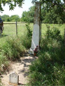 Abram Burnett Grave