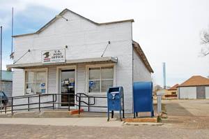 Liebenthal, Kansas Post Office by Kathy Weiser-Alexander.