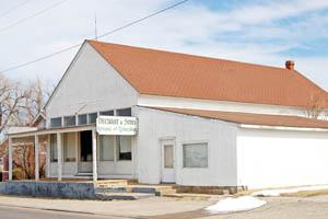 Liebenthal, Kansas Business Building by Kathy Weiser-Alexander.