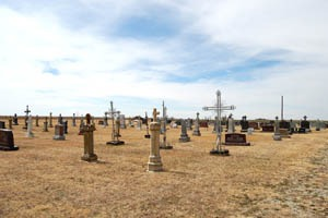 Liebenthal, Kansas Cemetery by Kathy Weiser-Alexander.