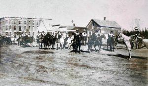 Early day Medicine Lodge, Kansas.