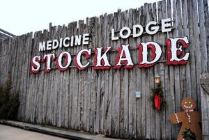 Medicine Lodge Stockade Museum by Kathy Alexander.