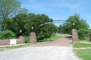 John Brown Memorial Park, Osawatomie, Kansas by Kathy Weiser-Alexander.