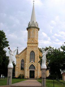 St. Catherine Catholic Church in Catherine, Kansas.