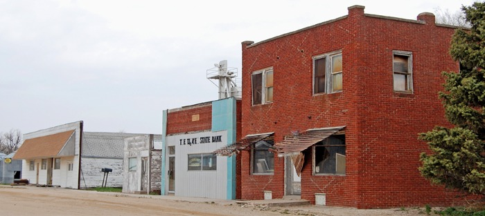 Timkin, Kansas Business District by Kathy Weiser-Alexander.