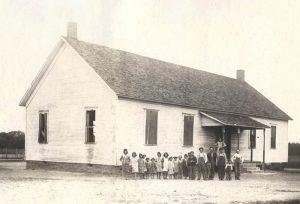 School in Mackie Camp, Cherokee County, Kansas.