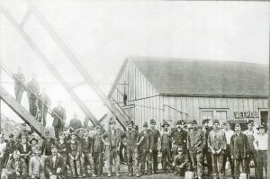 Miners in Roseland, Kansas.
