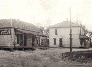 Store and residence in Turck, Kansas, 1938.
