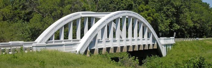 Rainbow Bridge near Baxter Springs, Kansas by Kathy Weiser-Alexander.