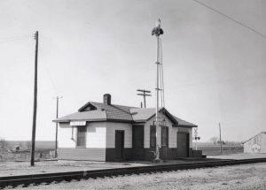 Kansas Pacific Depot in Allen, Kansas.