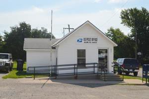 Allen, Kansas post office today by Kathy Weiser-Alexander.