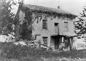 Augustus Wattles' Home, Moneka, Kansas.