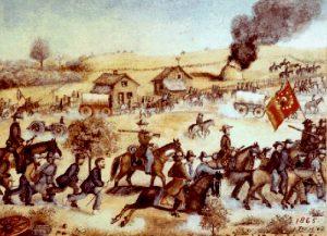 Battle of Mine Creek by Samuel J. Reader, 1865