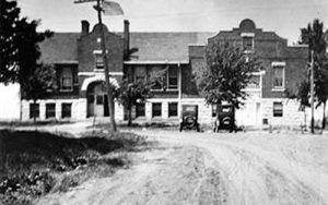Bushong, Kansas Highschool, 1926.