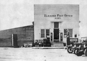 Elkader, Kansas Post Office