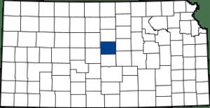 Ellsworth County Map