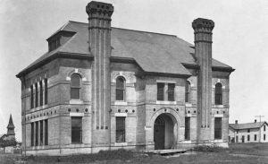 Garfield, Kansas public school, early 20th century.