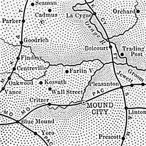 Linn County map, 1899.