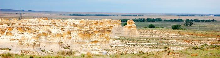Little Jerasulum Badlands in Logan County, Kansas by Dave Alexander.