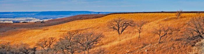 Riley County, Kansas Landscape near Manhattan by Kathy Weiser-Alexander.