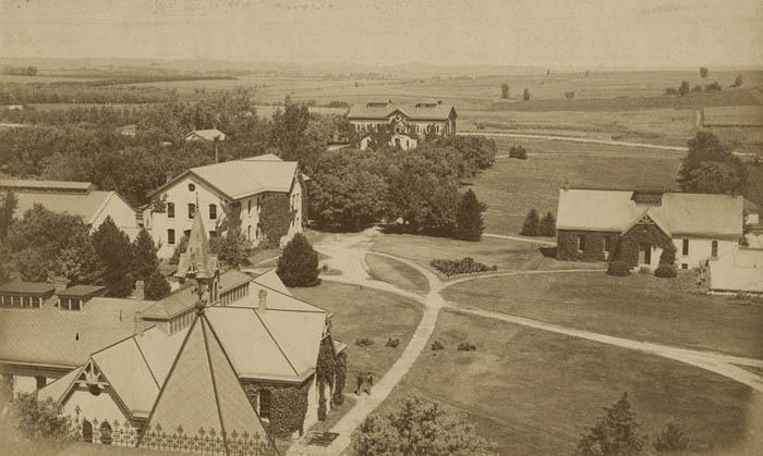 Kansas State Agricultural College in Manhattan, Kansas.