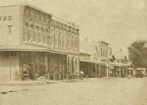 Manhattan, Kansas about 1895.