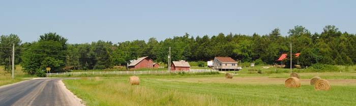 Linn County Landscape near Parker, Kansas by Kathy Weiser-Alexander.