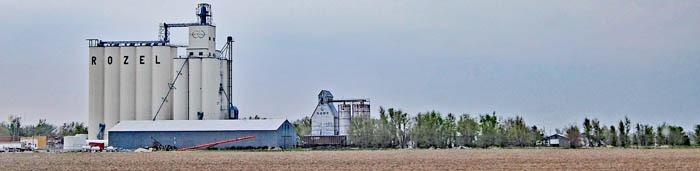 Rozel, Kansas by Kathy Weiser-Alexander.