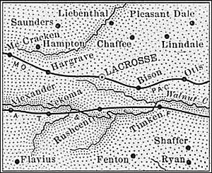 Rush County, 1889