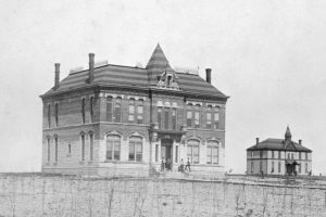 Logan County Courthouse in Russell Springs, Kansas, 1895.