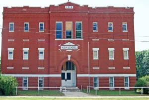 Toronto, Kansas High School by Kathy Weiser-Alexander.