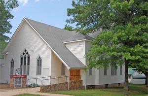 Methodist Church in Toronto, Kansas by Kathy Weiser-Alexander.