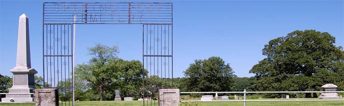 Trading Post, Kansas Cemetery by Kathy Weiser-Alexander.