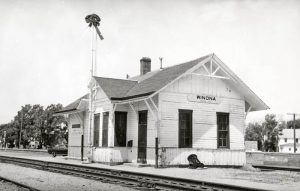 Union Pacific Depot, Winona, Kansas.