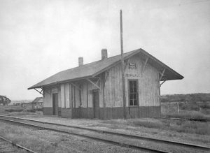 The Chicago, Rock Island and Pacific Railroad once ran through Zeandale, Kansas but the tracks are gone today.