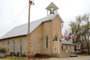 Zeandale Community Church by Kathy Weiser-Alexander.