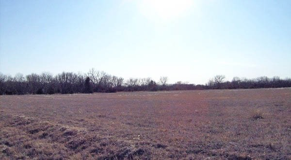 The most likely location for the old settlement of Columbia is farmland today.