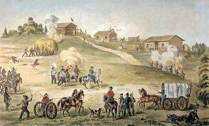 Battle of Hickory Point, Kansas.