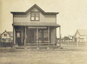 Bison, Kansas Post Office.
