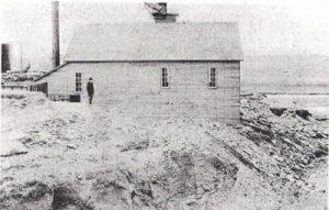Beatty Gold Mill near Chetolah, Kansas, 1902.